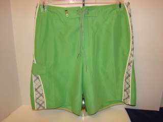 VTG HANG TEN TRUNK BOARD Shorts Mens 36 VELCRO FLY SWIM