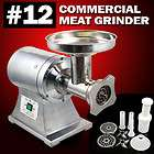 1HP Commercial Stainless Steel Compact Size Electric Meat Grinder #12
