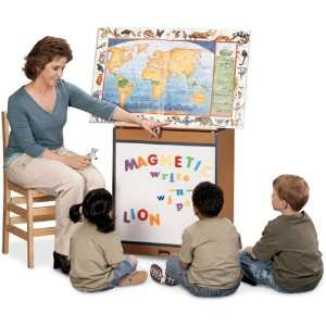 Jonti Craft Sproutz Big Book Easel   Magnetic Write n Wipe