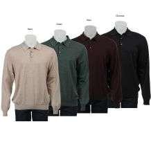 Toscano Mens Italian Merino Wool Sweater