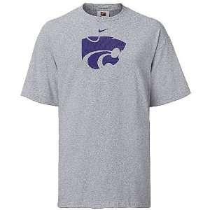 Kansas State Wildcats College Logo Short Sleeve T Shirt By