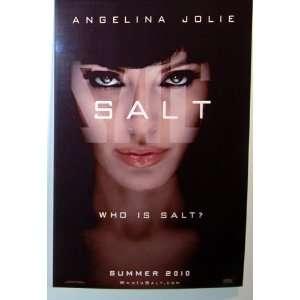 SALT MOVIE PROMO POSTER 11x17 ANGELINA JOLIE Everything