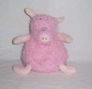 Hallmark Plush ROLIES POLIES Pink Pig