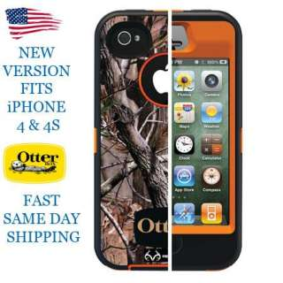 OtterBox Realtree Defender Series AP Orange Camo Pattern Case Apple