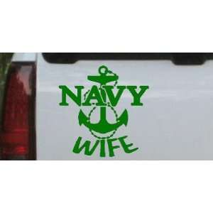 Navy Wife Military Car Window Wall Laptop Decal Sticker Automotive