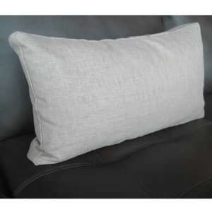 Goa Contemporary Lumbar Pillow Stone   MOTIF Modern Living: