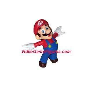 Super Mario Galaxy Wii Figure Keychain   Soaring Mario Toys & Games