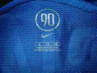 Inter Milan 10 Adriano Nike Adult XL Football Soccer Shirt Jersey
