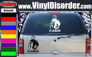 Johnny Cash NE Band Vinyl Car o Wall Decal Sticker
