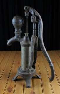Windengine & Pump Antique Steel Cast Iron Well Pump Head Patent