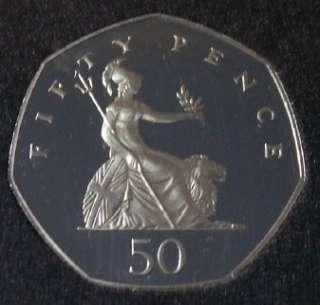 United Kingdom 7 Coin PROOF Set 1987 Unc low mintage