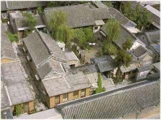 Puzzle kit Chinese House (Beijing Quardrangle Courtyard House) Model