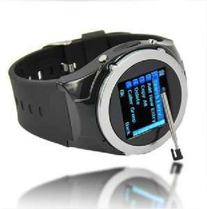 Quad Band Wrist Mobile Mens Watch Cell Phone Spy Camera DV MQ998 New