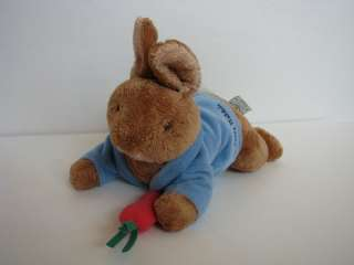 GUND Peter Rabbit Beatrix Potter Musical Plush Baby Toy