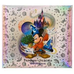 Disney World Sorcerer Mickey Pre Finish Scrapbook Album 12 x 12