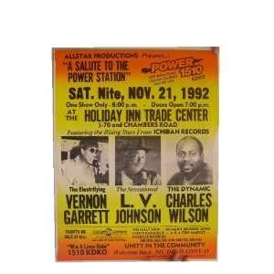 Vernon Garrett L.V. Johnson Charles Wilson Poster LV