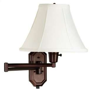 Kenroy Home Nathaniel 12 Swing Arm Lamp in Bronze