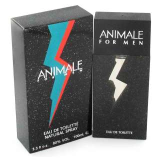 ANIMALE by Animale 3.4 oz EDT Cologne for Men NIB 892456000174