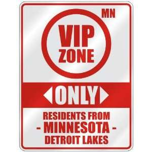 FROM DETROIT LAKES  PARKING SIGN USA CITY MINNESOTA Home Improvement