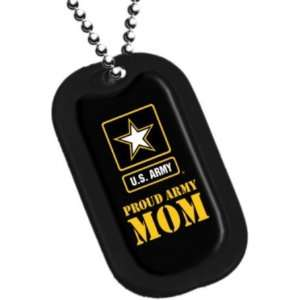 United States Army Armed Forces Proud Army Mom Yellow