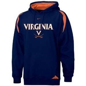 Navy Blue Youth Pass Rush Hoody Sweatshirt