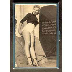 KL MARILYN MONROE EARLY PIN UP ID CREDIT CARD WALLET CIGARETTE CASE