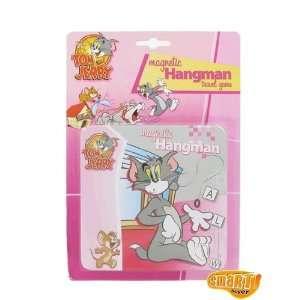 Tom&Jerry Magnetic Hangman Travel Game Tom & Jerry Magnetic Hangman
