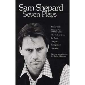 Sam Shepard Seven Plays, Shepard, Sam Art, Music & Photography