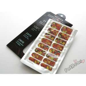 Nail Foils Nail Art Decoration Sticker (Flower Art