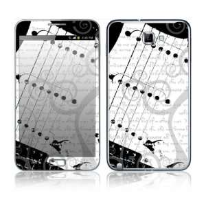 I Love Guitar Decorative Skin Cover Decal Sticker for