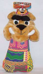 Sergeants Crazy Paws Dog ~ Plush Dog Toy w/Tags