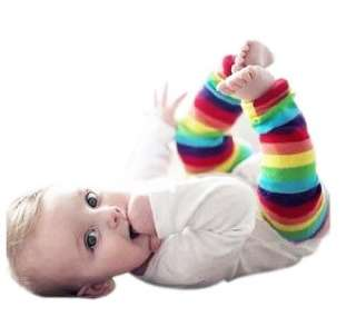 NWT Baby Girl Boy Socks Leg Warmer Rainbow 0 5T BBS05