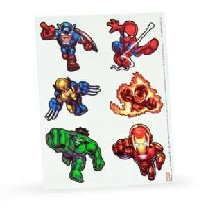 Marvel Super Hero Squad Tattoos (2 count)  Kitchen