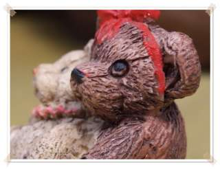 Miniature Teddy Bear Doll Love's Family by Mini Artist