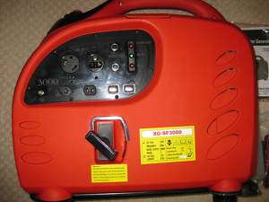 DIGITAL INVERTER 3000W GAS PORTABLE GENERATOR SF3000