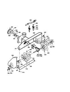 Craftsman Snow thrower Auger housing Parts