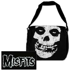 Misfits Skull & Logo Messenger Bag  Shop Ticketmaster Merchandise