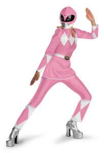 Pink Power Ranger Adult Women Halloween Costume Md Lg