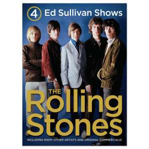 Rolling Stones 4 Ed Sullivan Shows DVD  Shop Ticketmaster Merchandise