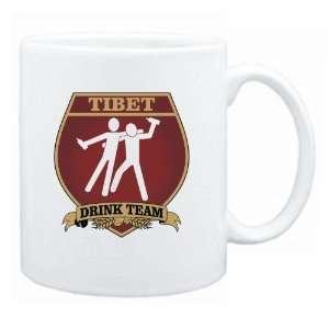 Tibet Drink Team Sign   Drunks Shield  Mug Country