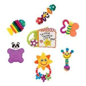 Sassy Babys 7 piece Gift Set, Multiple Colors Baby