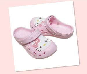 Hello Kitty Crocs Beach Sandals NWT
