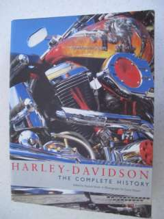 HARLEY DAVIDSON The Complete History MOTORCYCLE BOOK