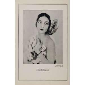 1927 Silent Film Star Delores Del Rio Edwin Carewe   Original Print