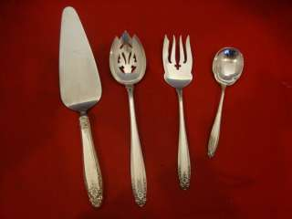 PRELUDE BY INTERNATIONAL STERLING SILVER FLATWARE SET SERVICE