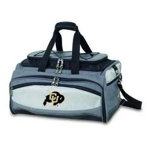 waterproof cooler compartment, padded handles, shoulder strap, and a r