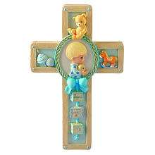 Loves Me Boy Praying Wall Cross   Precious Moments   Babies R Us