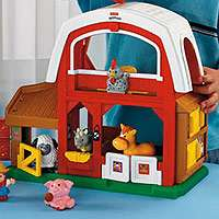 Fisher Price Little People Animal Sounds Farm   Fisher Price   Toys