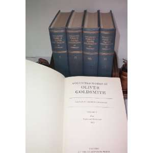 The Collected Works of Oliver Goldsmith (Five Volume Set