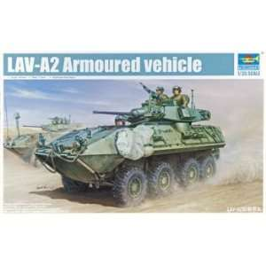 Scale Models   1/35 LAV A2 8X8 Wheeled Armored Vehicle (Plastic Model